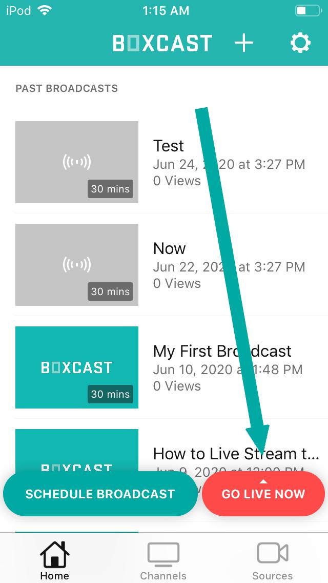 Broadcaster App
